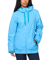Roxy Valley Blue 10K Girls 2014 Snowboard Jacket