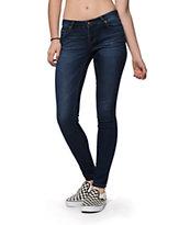 S.O.N.G. Curvy Diva Candy Dark Wash Skinny Jeans