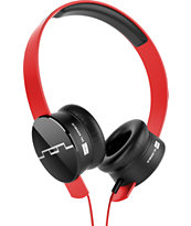 SOL REPUBLIC Tracks V8 Red Headphones