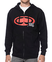 SRH OG S2 Black & Red Zip-Up Hoodie