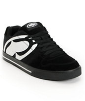 SRH Smooth Ride Black & White Skate Shoe