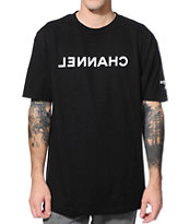 SSUR Channel Black Tee Shirt