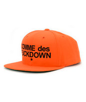 SSUR Comme Orange Snapback Hat