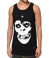 SSUR Crimson Ape Black Tank Top
