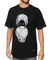 SSUR No Future Black T-Shirt