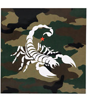 SSUR Scorpion Camo Sticker