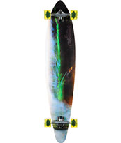 San Clemente Green Room 46 Pin Tail Longboard Complete
