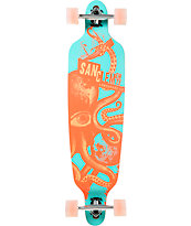 "San Clemente Kraken 3 39.75"" Drop Through Longboard Complete"