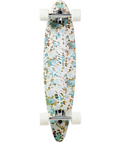 "San Clemente Palm Springs 34"" Pintail Longboard Complete"