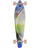"San Clemente Rainbow 38"" Pintail Longboard Complete"