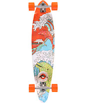 San Clemente Save The Dolphins Japan 39.75 Longboard Complete