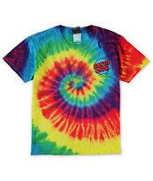 Santa Cruz Boys Screaming Hand Tie Dye T-Shirt