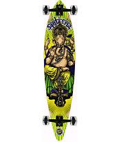 "Santa Cruz Ganesh 43.5"" Pintail Longboard Complete"