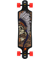 "Santa Cruz Head Dress 28.9"" Drop Through Longboard Complete"