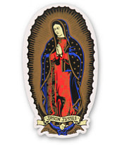 Santa Cruz Jason Jessee Guadalupe Vinyl Sticker