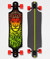 "Santa Cruz Lion God Drop Through 40"" Cruiser Skateboard"