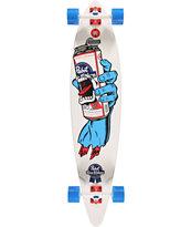 "Santa Cruz PBR Hand Pintail 43.5"" Longboard Complete"