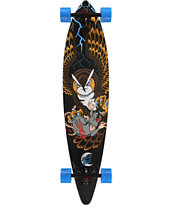 "Santa Cruz Prey For Death Pintail 43.5"" Longboard Complete"