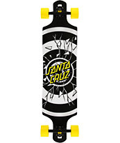 Santa Cruz Rob Dot 40 Drop Down Longboard