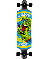 "Santa Cruz Rob Hand Footstop 40"" Drop Through Longboard Complete"