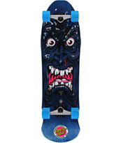 Santa Cruz Rob Roskopp Face Blue 35 Cruiser Complete Skateboard