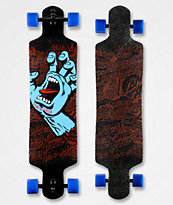 "Santa Cruz Screaming Hand 40"" Drop Down Longboard"