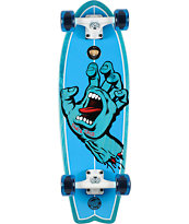"Santa Cruz Screaming Hand Shark 27.7"" Cruiser Complete"
