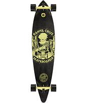 "Santa Cruz Sleazy Rider Pintail 31.475"" Longboard Complete"