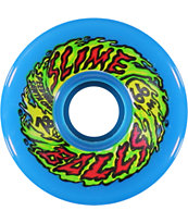 Santa Cruz Slimeballs 66mm 78a Blue Skateboard Wheels