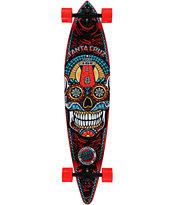 """Santa Cruz Sugar Skull 43.5"""" Pintail Longboard Complete"""