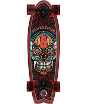 Santa Cruz Sugar Skull Shark 27.7 Cruiser Complete