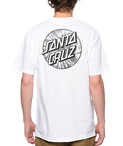Santa Cruz Tie Dye Dot Tee Shirt