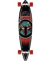 "Santa Cruz x Boba Fett 43.5"" Pintail Cruiser Complete"