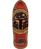 "Santa Cruz x Star Wars Boba Fett Inlay 10.35"" Skateboard Deck"