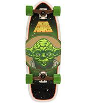 Santa Cruz x Star Wars Yoda 28.5 Cruiser Complete Skateboard