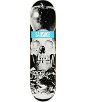 Sausage Earth Skull 8.0 Skateboard Deck