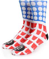 Savvy Sox Pong Champ Crew Socks