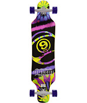 "Sector 9 Activist Tie Dye 40.5"" Drop Through Longboard Complete"