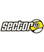 Sector 9 Bar Logo Sticker