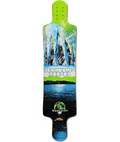 "Sector 9 Faultline 39.5"" Drop Through Longboard Deck"