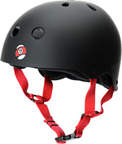 Sector 9 Foundation Black & Red Skateboard Helmet