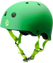 Sector 9 Foundation Green Skateboard Helmet