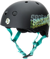 Sector 9 Jailbreak Black Skateboard Helmet