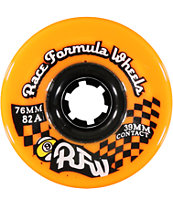 Sector 9 Race Formula Orange 76mm Skateboard Wheels