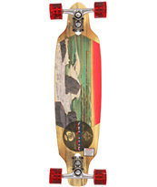 "Sector 9 Shoots 33"" Drop Down Bamboo Longboard Complete"