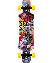 "Sector 9 Static 39.5"" Drop Through Longboard Complete"