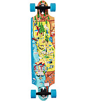 "Sector 9 Traveler 38"" Drop Through Longboard Complete"
