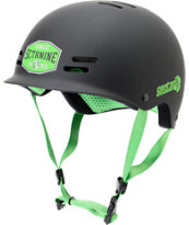 Sector 9 Union Matte Black Skateboard Helmet