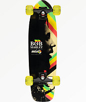 "Sector 9 x Bob Marley Natty Dread 27"" Cruiser Complete Skateboard"
