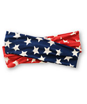 See You Monday Americana Stars & Stripes Headband